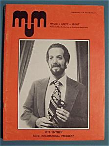 Magic Unity Might MUM Magician Magazine - Sept 1978 (Image1)