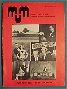 Magic Unity Might Mum Magician Magazine - Dec 1978