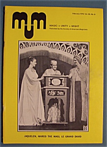 Magic Unity Might Mum Magician Magazine - Feb 1979