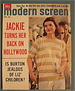 Modern Screen Magazine - Dec 1962 - Jackie (Image1)