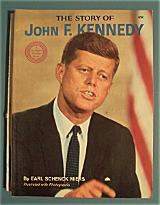 The Story Of John F. Kennedy - 1964 Wonder Books