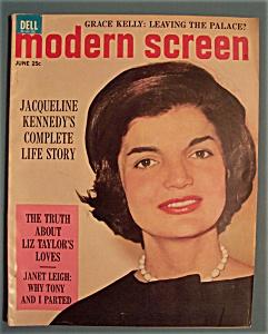 Modern Screen Magazine - June 1962 - Jackie (Image1)