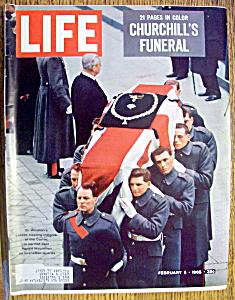 Life Magazine-February 5, 1965-Churchill's Funeral (Image1)