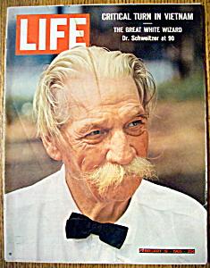 Life Magazine - February 19, 1965 - Dr. Schweitzer (Image1)