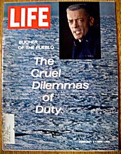 Life Magazine - February 7, 1969 - Bucher Of The Pueblo (Image1)