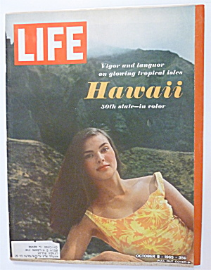 Life Magazine-october 8, 1965-hawaii & Clara Bow