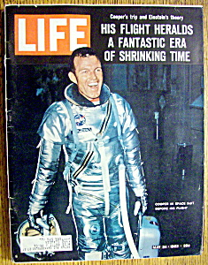 Life Magazine-May 24, 1963-Cooper In Space Suit (Image1)