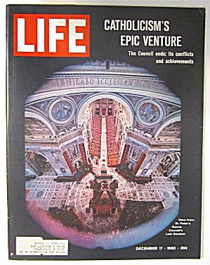 Life Magazine December 17, 1965 Catholicism's Venture (Image1)