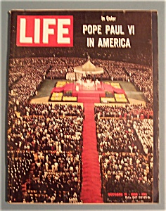 Life Magazine - October 15, 1965 - Pope Paul Vi