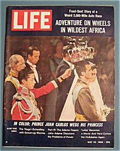 Life Magazine - May 25, 1962 - Prince Juan Carlos Weds (Image1)