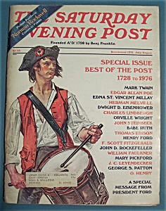 Saturday Evening Post Magazine - Norman Rockwell - 1976