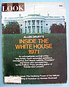 Look Magazine - October 19, 1971 - Inside White House (Image1)