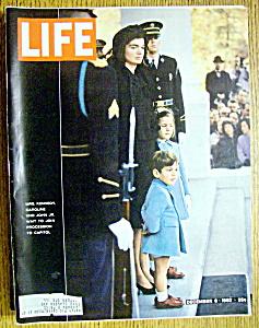 Life Magazine-December 6, 1963-Jackie Kennedy (Image1)