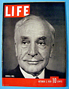 Life  Magazine - October 2, 1939 - Cordell Hull (Image1)