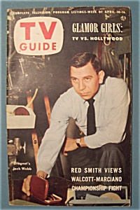 TV Guide - April 10-16, 1953 - Jack Webb (Image1)