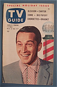 Tv Guide - July 3-9, 1953 - Perry Como