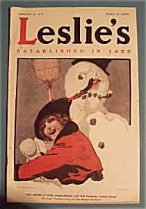 Leslie's Newspaper - January 8, 1914 (Image1)