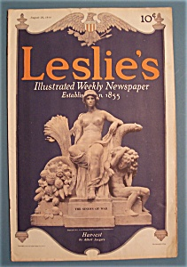 Leslie's Newspaper - August 20, 1914