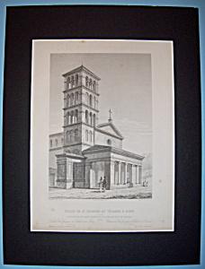 Eglise De St Georges Au Velabre A Rome (Image1)