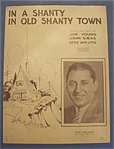 Sheet Music Of 1932 In A Shanty In Old Shanty Town