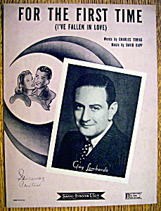 Sheet Music For 1943 For The First Time