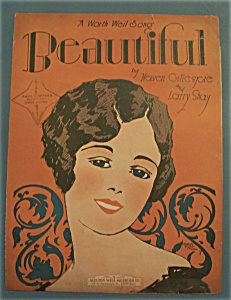 Sheet Music Of 1927 Beautiful