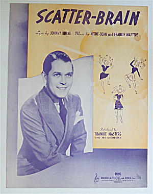 Sheet Music For 1939 Scatter-brain
