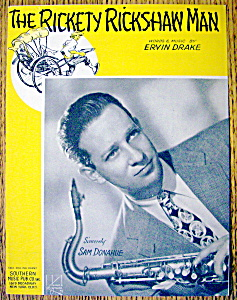 Sheet Music For 1943 The Rickety Rickshaw Man (Image1)