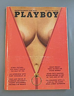 Playboy Magazine-July 1973-Martha Smith (Image1)