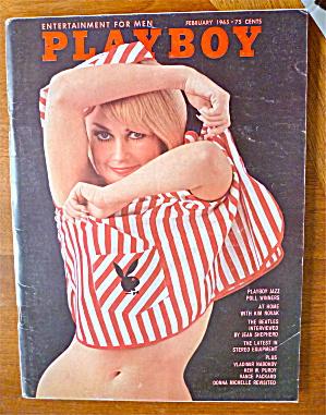 Playboy Magazine-February 1965-Jessica St. George (Image1)