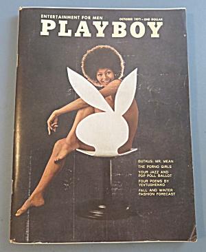 Playboy Magazine-October 1971-Claire Rambeau (Image1)