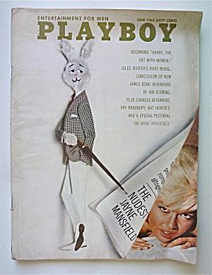 Playboy Magazine-June 1963-Jayne Mansfield (Image1)