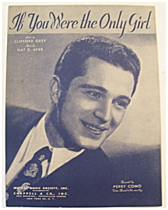 1929 If You Were The Only Girl (Perry Como)