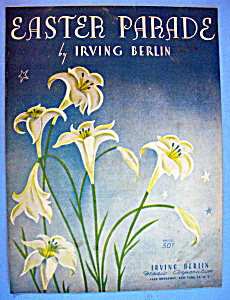 Sheet Music For 1933 Easter Parade By Irving Berlin