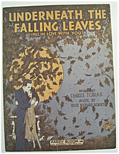 1930 Underneath The Falling Leaves/rose Richard Robert