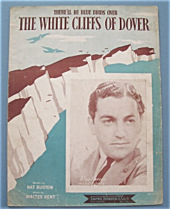 Sheet Music/1941 The White Cliffs Of Dover-blue Barron