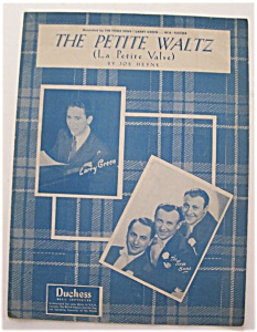 Sheet Music For 1950 The Petite Waltz