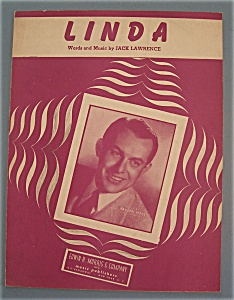 Sheet Music For 1946 Linda (Vaughn Monroe Cover)