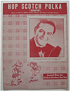 Sheet Music For 1949 Hop Scotch Polka (Guy Lombardo)