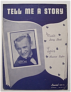 Sheet Music For 1948 Tell Me A Story