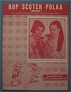 Sheet Music For 1949 Hop Scotch Polka (Rayburn & Finch)