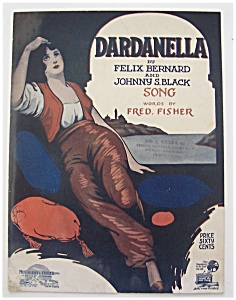 Sheet Music For 1919 Dardanella