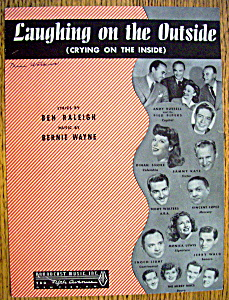 Sheet Music For 1946 Laughing On The Outside