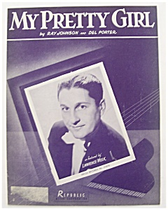 Sheet Music For 1947 My Pretty Girl