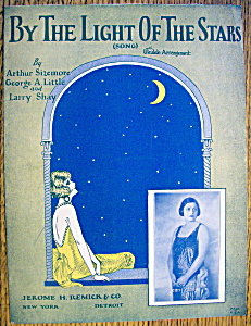 Sheet Music For 1925 By The Light Of The Stars