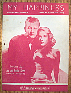 Sheet Music For 1948 My Happiness