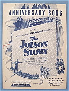 Sheet Music For 1946 Anniversary Song (Image1)