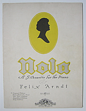 Sheet Music For 1926 Nola