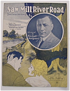 Sheet Music For 1931 Saw Mill River Road