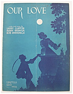 Sheet Music For 1939 Our Love